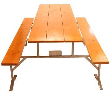 Table de cantine avec banc pal o location de mat riel - Location de table et banc ...